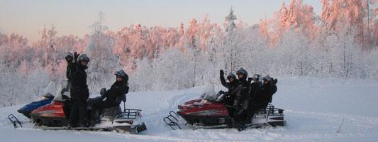 Снегоходный тур 'Зимняя Башкирия'.