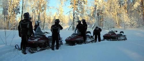 Снегоходный тур 'Заповедным таежным путем'.